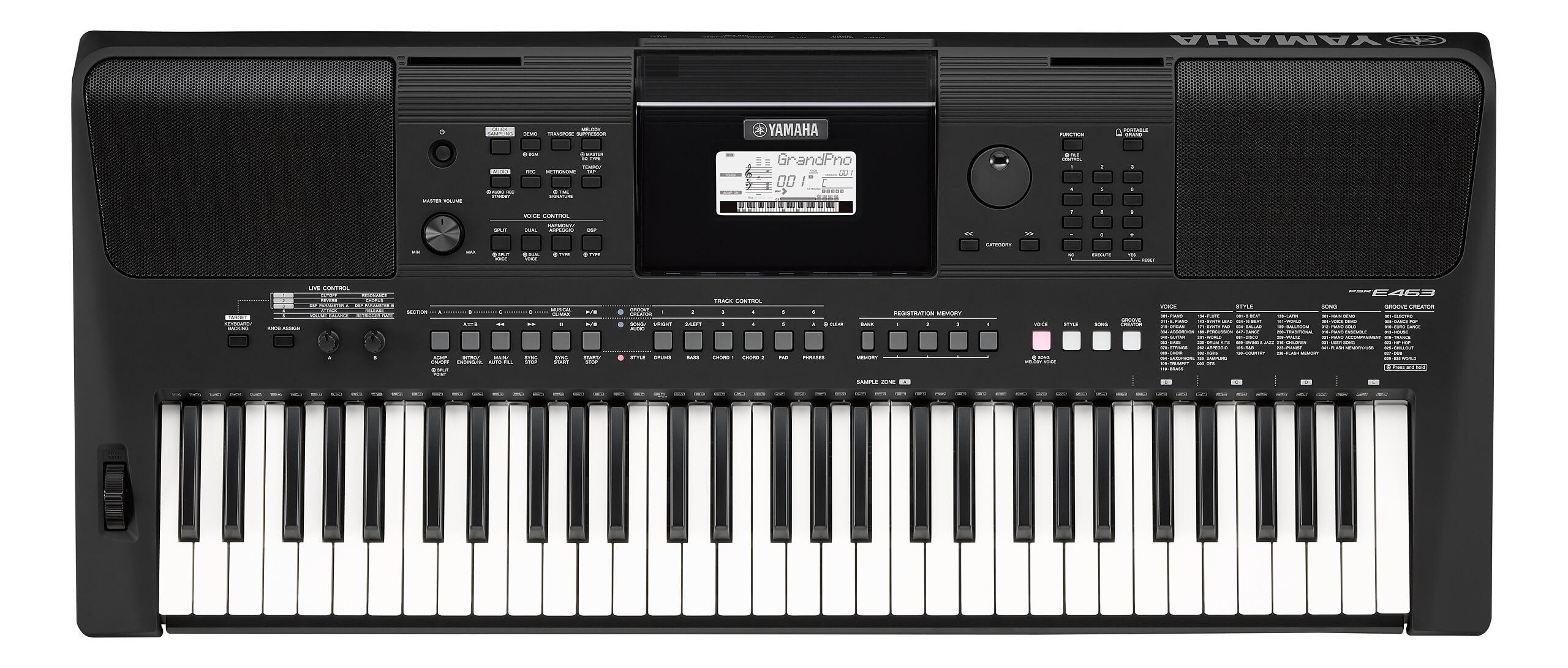 Teclado Portátil Yamaha PSR-E463