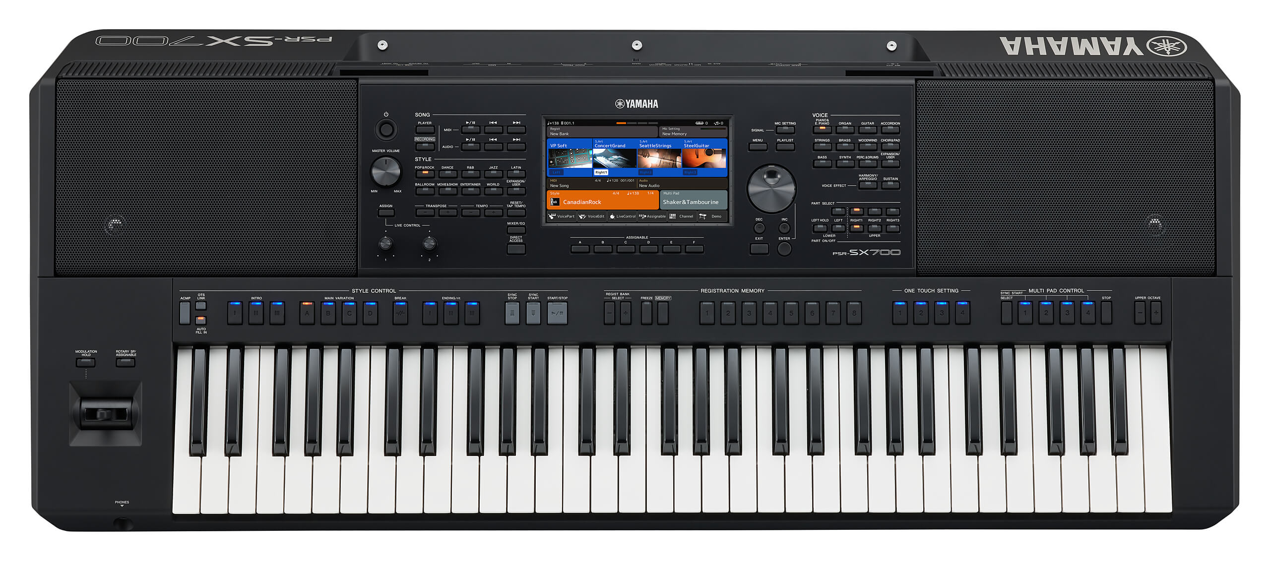 Teclado Semi-Profesional Yamaha PSR-SX700