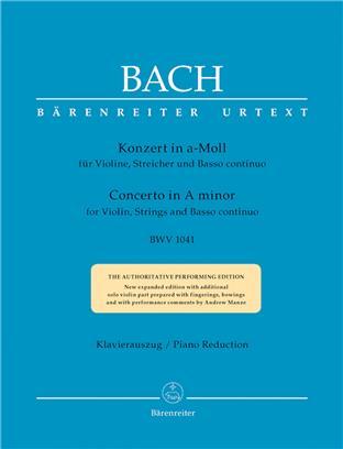 Konzert für Violine  a-Moll BWV 1041 Bach J.S