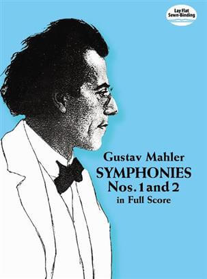 Symphonies Nos. 1 And 2 Full Score .Mahler