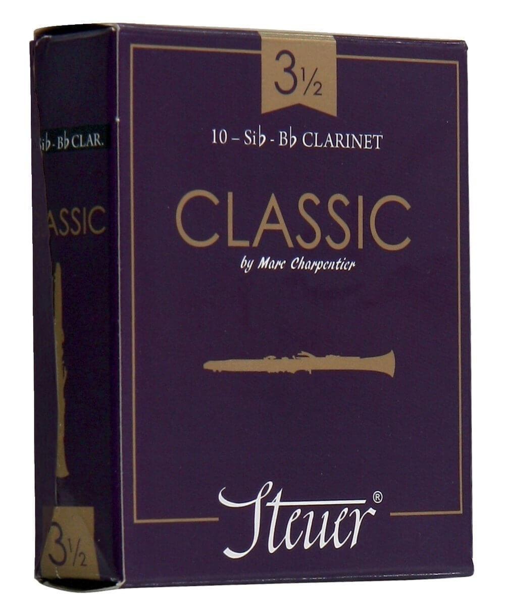 Caña Clarinete En Sib Steuer Classic Nº2