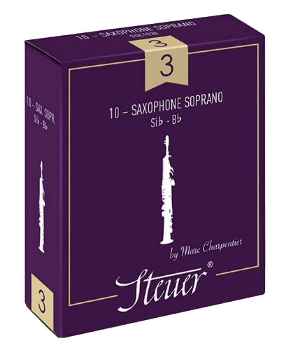 Caña Saxofón Soprano Steuer Tradicional Nº1 1/2