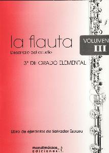La Flauta Vol.3 Elemental (Desarrollo Del Estudio) .Espasa