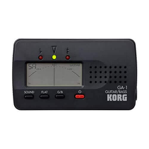 Afinador para guitarra y bajo Korg GA-1