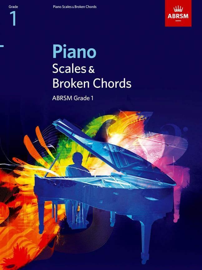 Piano Scales & Broken Chords, Grade 1