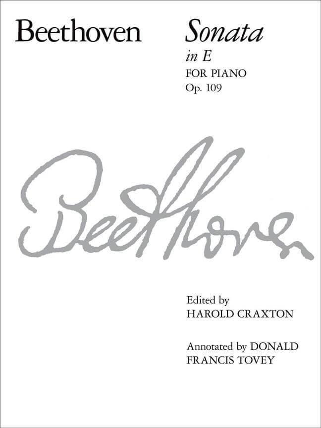 Piano Sonata in E, Op. 109