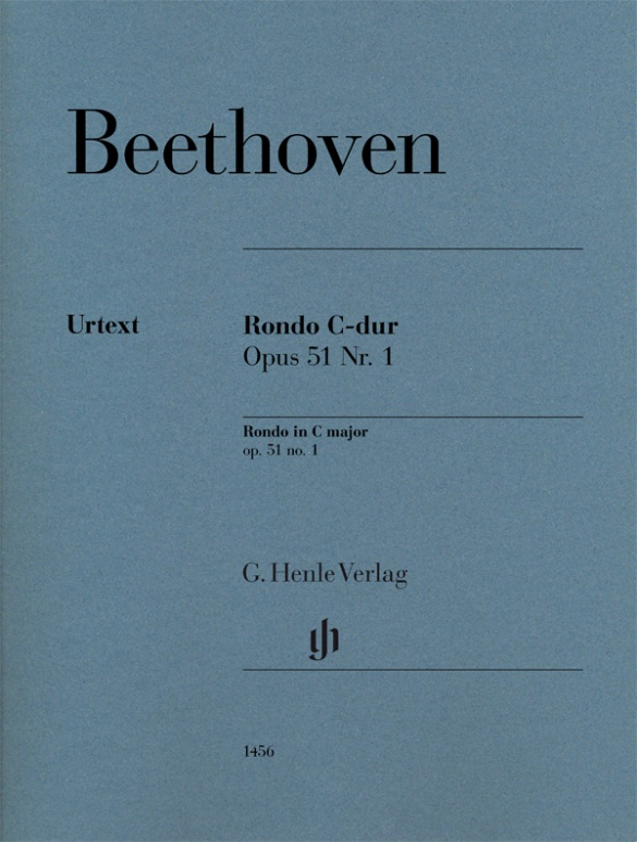 Rondo C major Op.51,1. Piano Beethoven