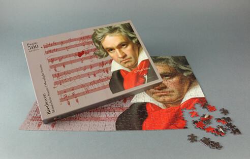 Puzzle Beethoven 500 piezas. Moonlight Sonata