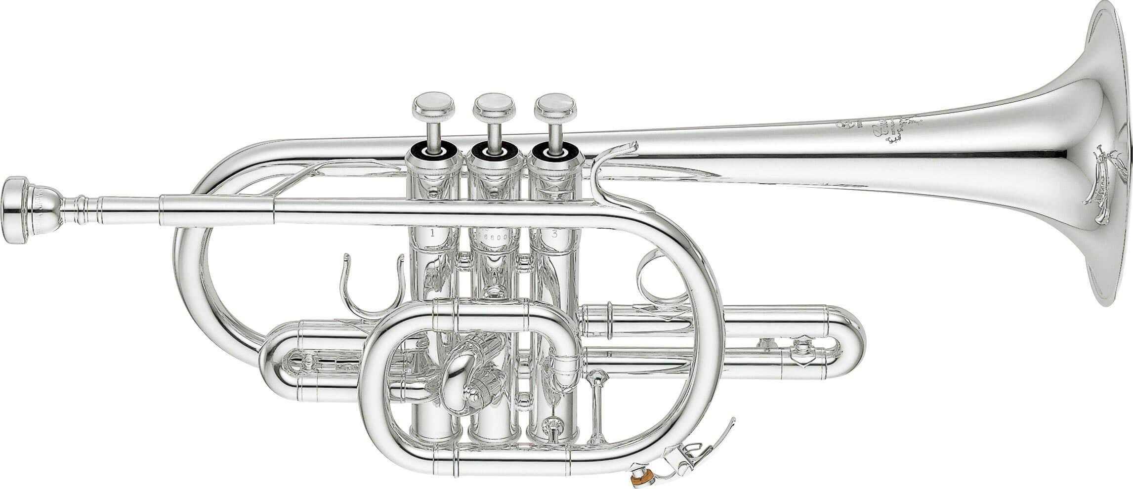 Corneta Yamaha YCR-9435 Plateada