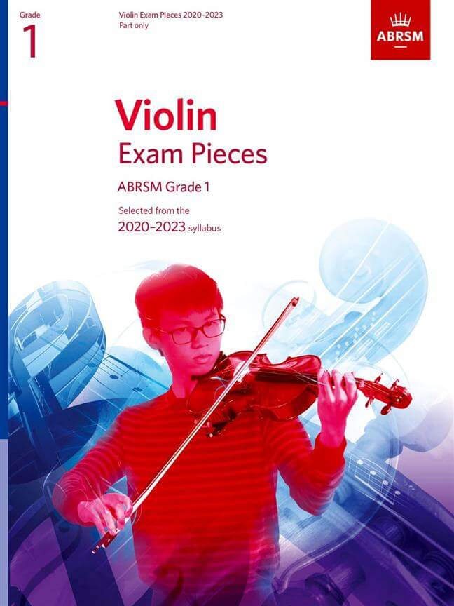 Violin Exam Pieces 2020-2023, ABRSM Grade 1, Part