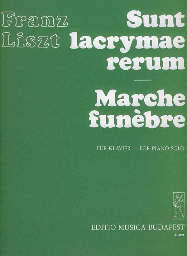 Sunt lacrymae rerum - Marche funebre. Piano. Liszt