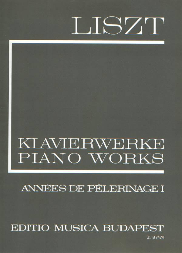 Années de Pelerinage. Liszt