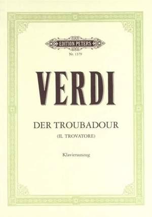 Il Trovatore Vocal and Piano .Verdi (Ger./It)