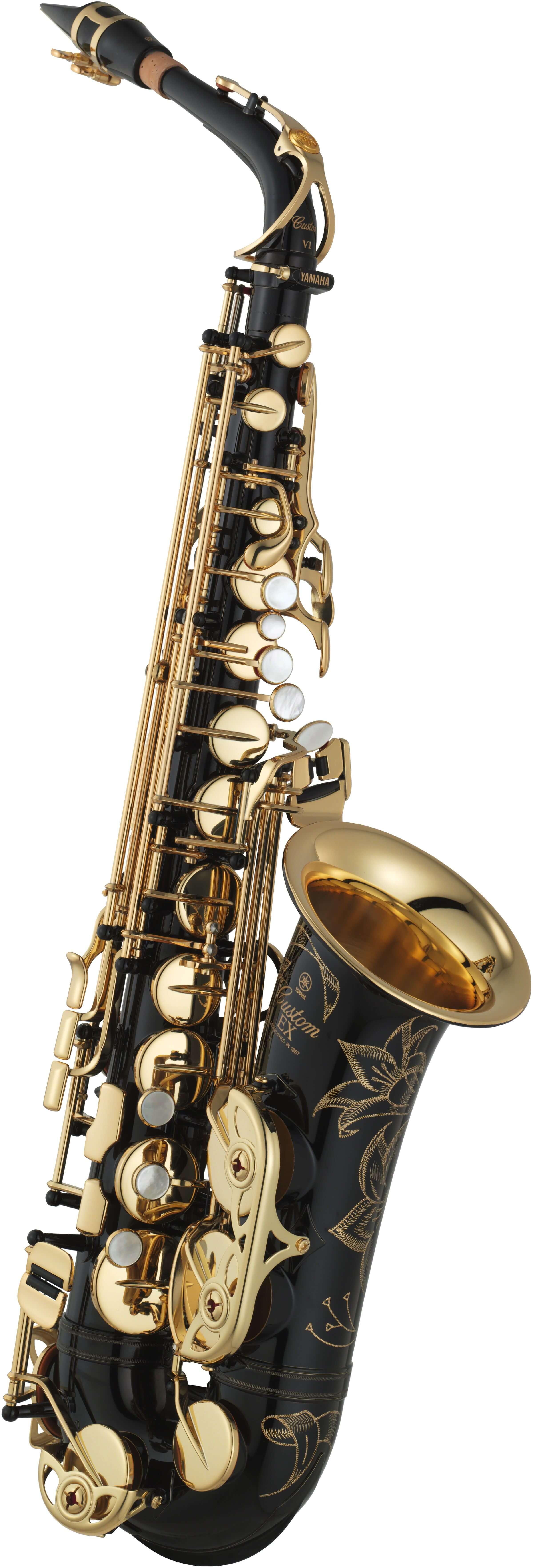 Saxofón Alto Yamaha YAS-875EXB 05 Negro
