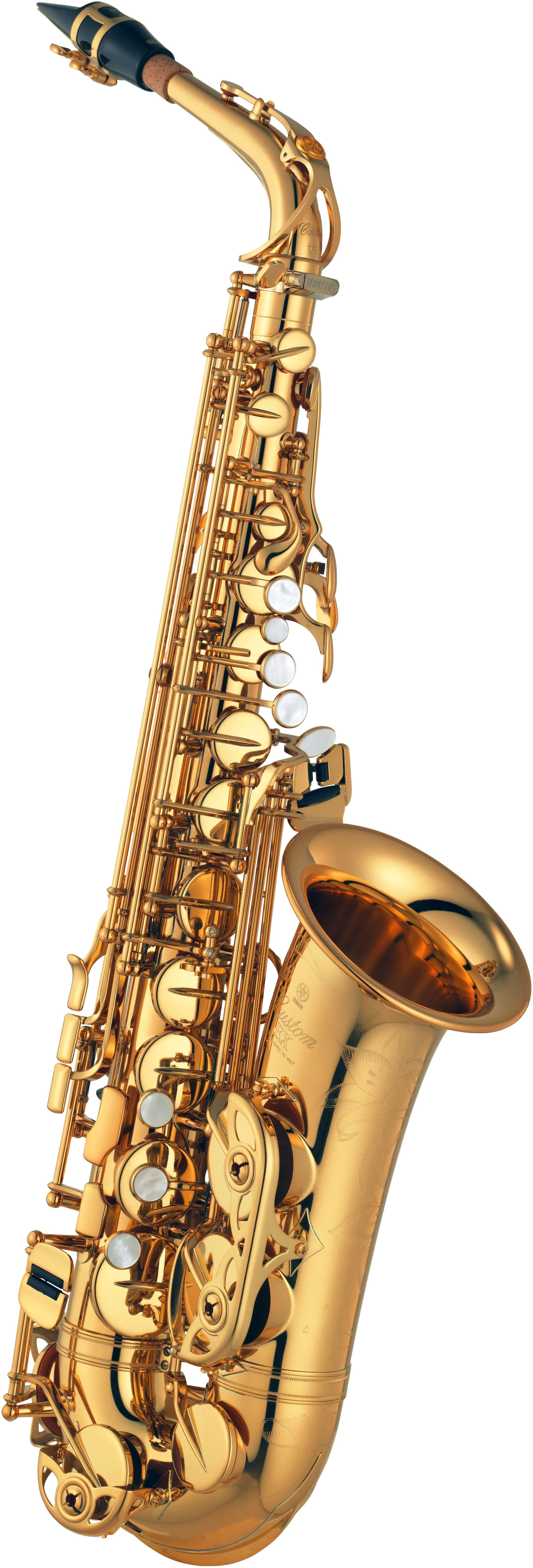 Saxofón Alto Yamaha YAS-875EXG 05 Bañado en oro