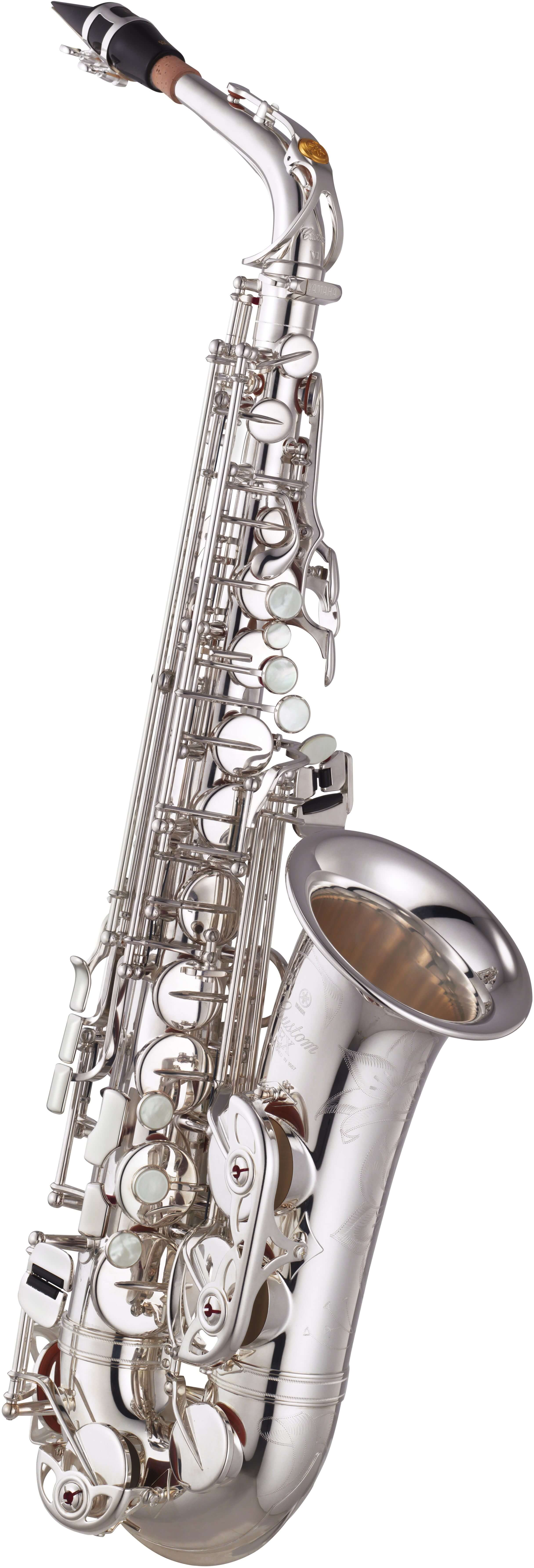 Saxofón Alto Yamaha YAS-875EXS 05 Plateado
