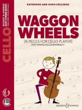 Waggon Wheels  for cello - piano +Audio acc.