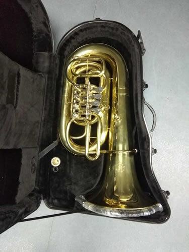 Tuba En Do 4 Cilindros Lacada
