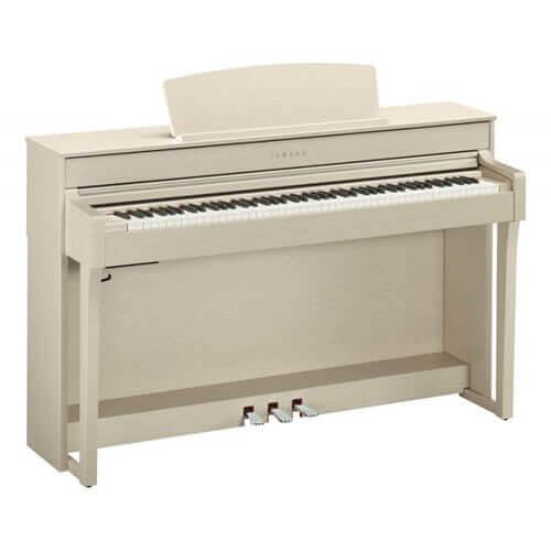 Pack Piano Digital Yamaha CLP-645WA con banqueta y auriculares