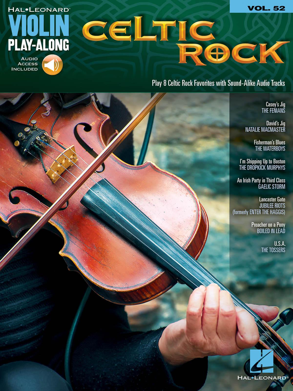 Violin Play-Along Vol.52 Celtic Rock
