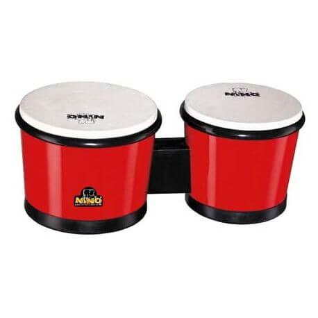 Bongos Nino Percussion Nino19R ABS sin tensores