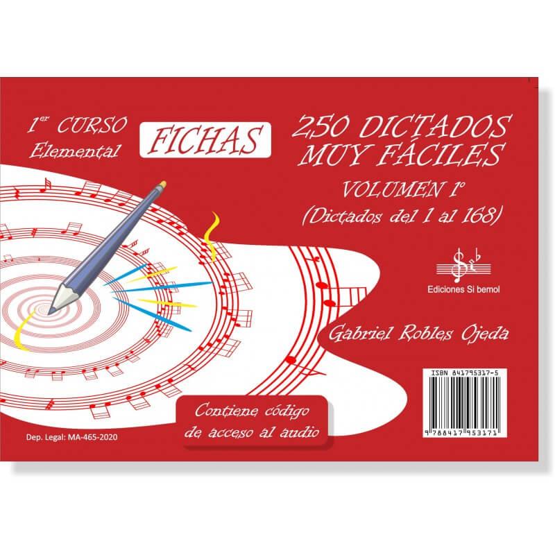 250 Dictados Muy Faciles Vol.1 LOGSE Elemental. Audio Online