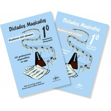 Dictados Musicales 1º+2Cds De La Vega/Garcia-Palao