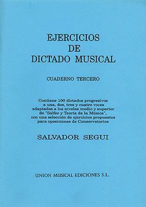 Ejercicios De Dictado Musical III
