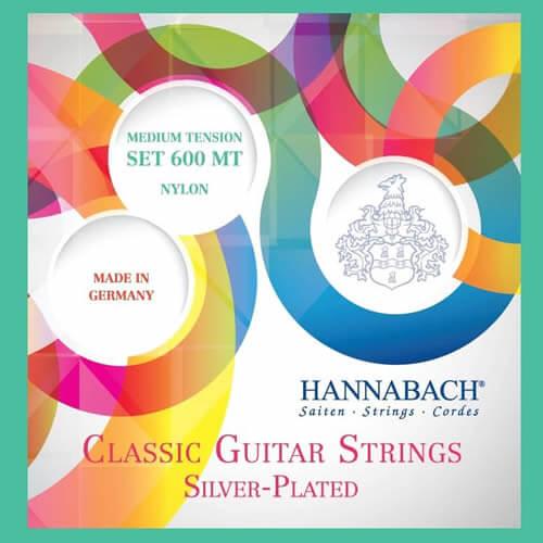 Jgo.Cuerdas Guitarra Clásica Hannabach 600Mt Medium