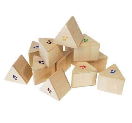 Lote sonoro triángulos musicales set de 12