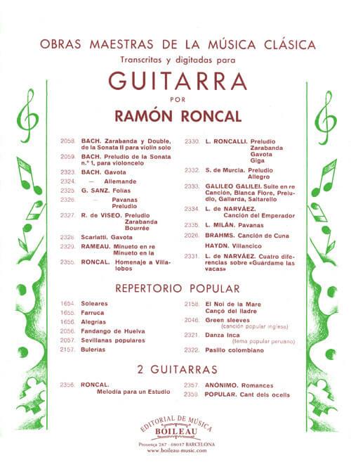 Sevillanas para guitarra