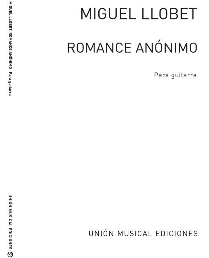Romance Anónimo para guitarra