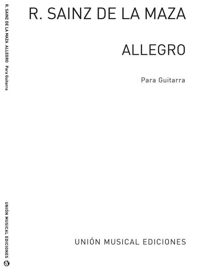 Allegro. Guitarra. Bach