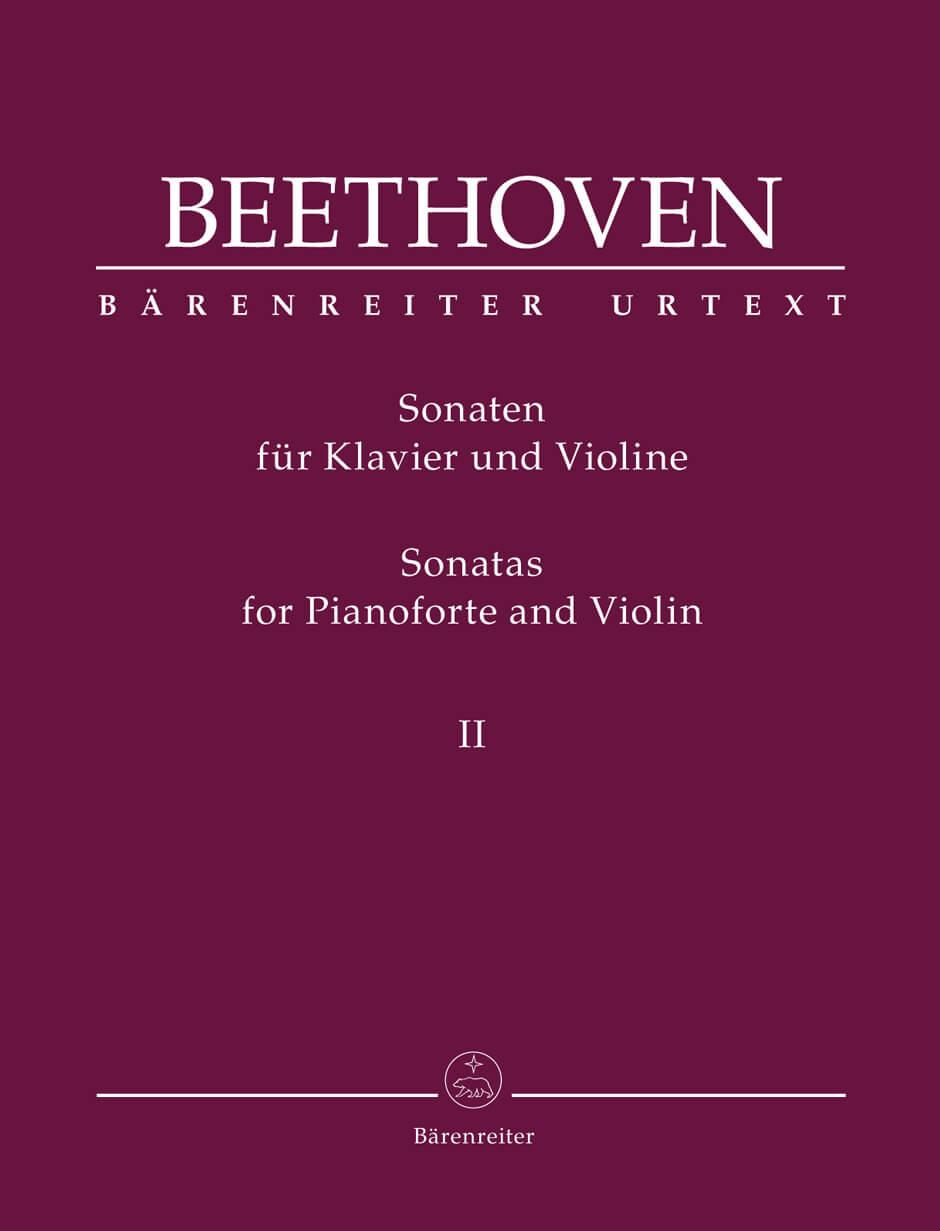 Sonatas for Pianoforte and Violin Vol II. Beethoven