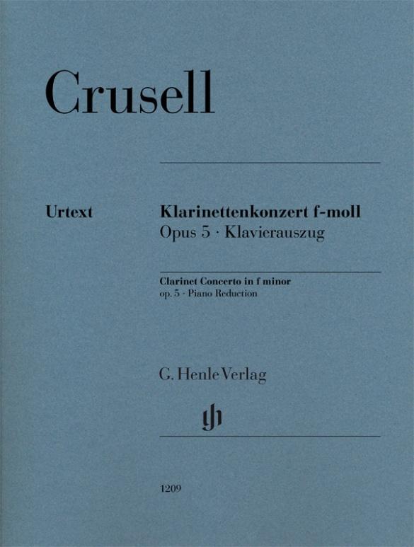 Clarinet Concerto in f minor Op.5. Clarinete y Orquesta
