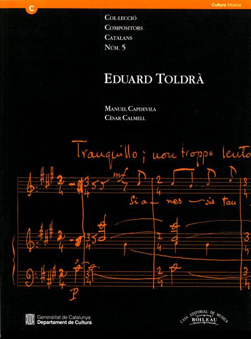 E.Toldrà nº5 col.compositors catalans