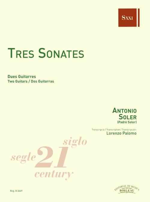 Tres Sonates