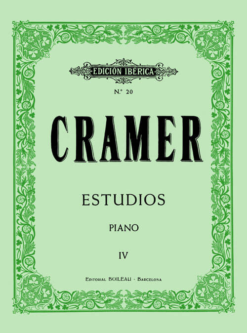 84 Estudios para piano Vol.IV .Cramer