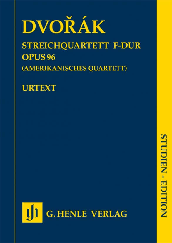 String Quartet F major Op.96. Dvorak Study score