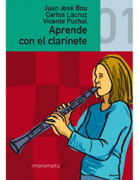 Aprende con el clarinete  volumen 1  .Bou/Lacruz/Puchol
