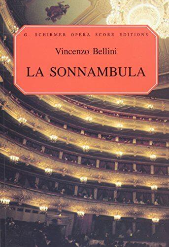 La Sonnambula. Vocal score. Bellini