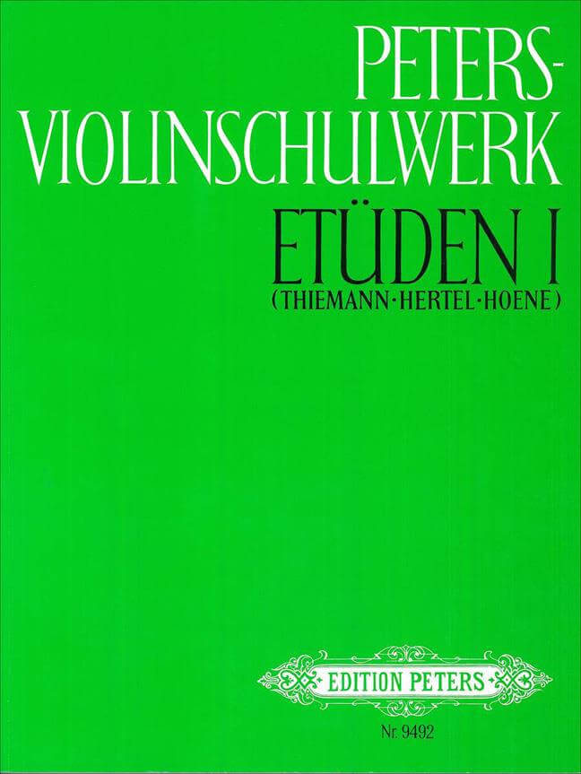Peters Violinschulwerk 1