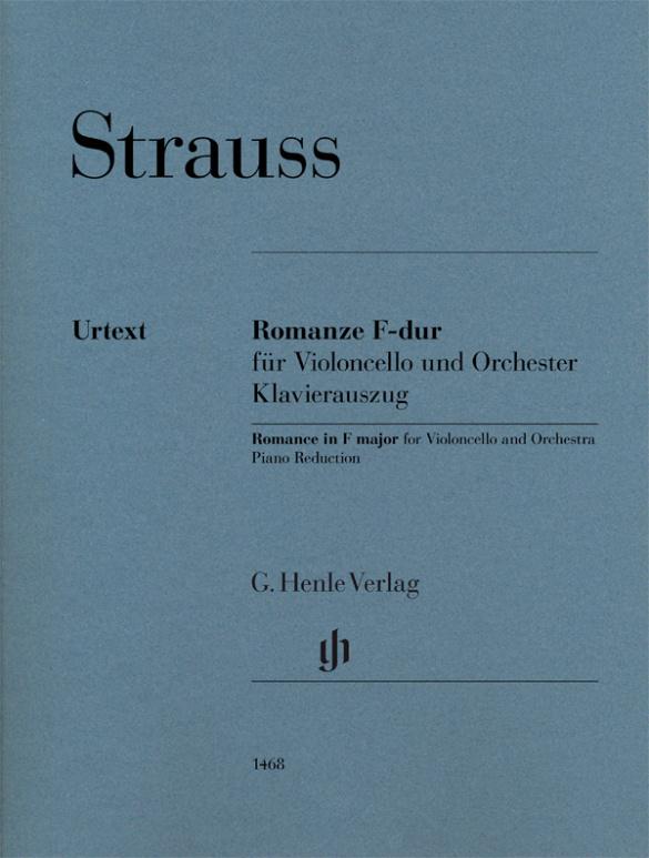 Romanze F-dur violoncello-piano . Richard Strauss
