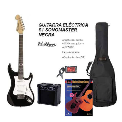 Pack guitarra eléctrica Washburn
