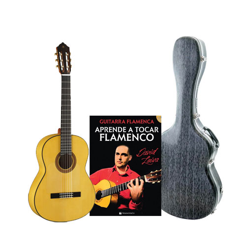 Pack guitarra flamenca Yamaha CG182SF