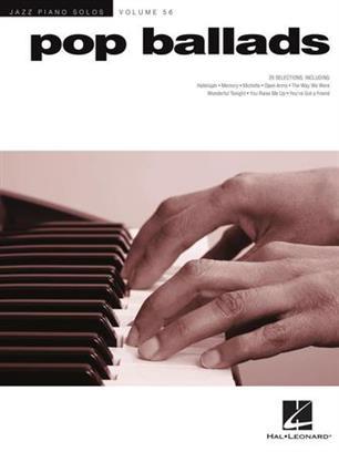 Jazz Piano Solos Series Volume 31. Pop Ballades Piano