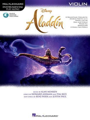 Aladdin - Violin Instrumental Play-Along + Audio online