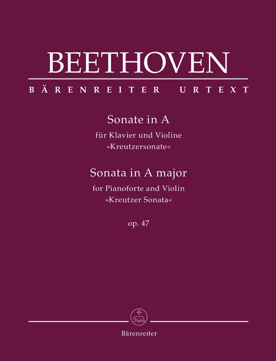 Sonata for Pianoforte and Violine op.47 Kreutzer Sonata. Beethoven