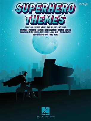 Superhero Themes Easy Piano
