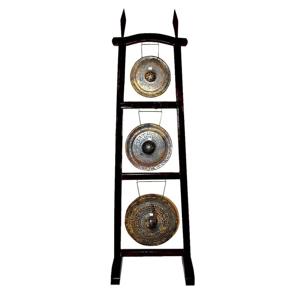 Torre 3 Gongs+Soporte+Maza Etnian